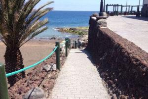 acceso_playa_melenara_hotel_lamarine
